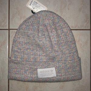 NWT Adidas Gray Shimmer Snow Hat